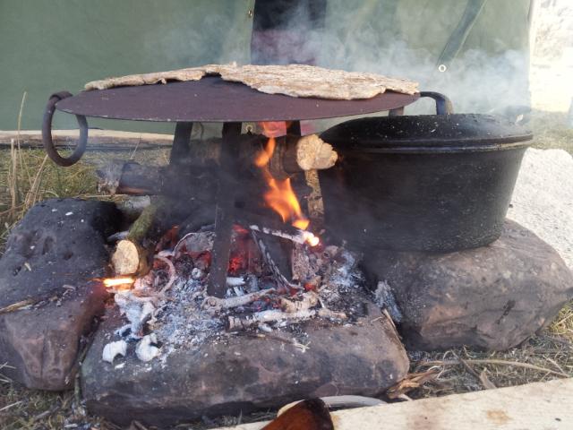 Fireside Chapati Baker