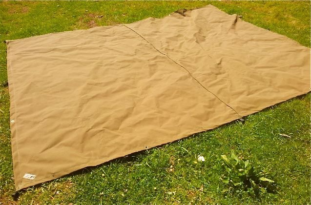 Canvas Tarp matt sand
