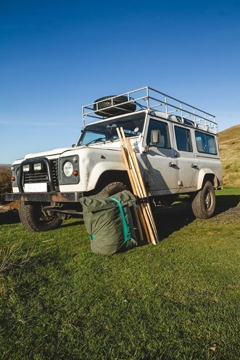 Landrover Tent Folded