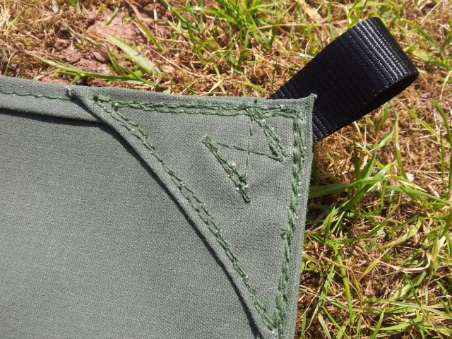 Reinforced Webbing Loop Detail