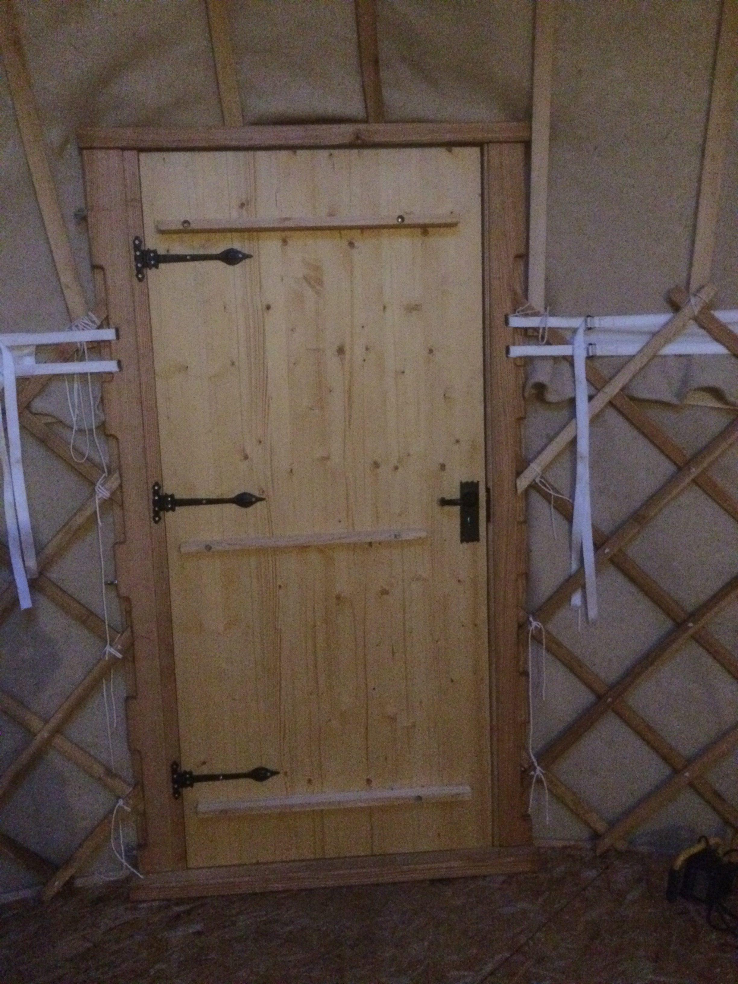 Wooden door, options available