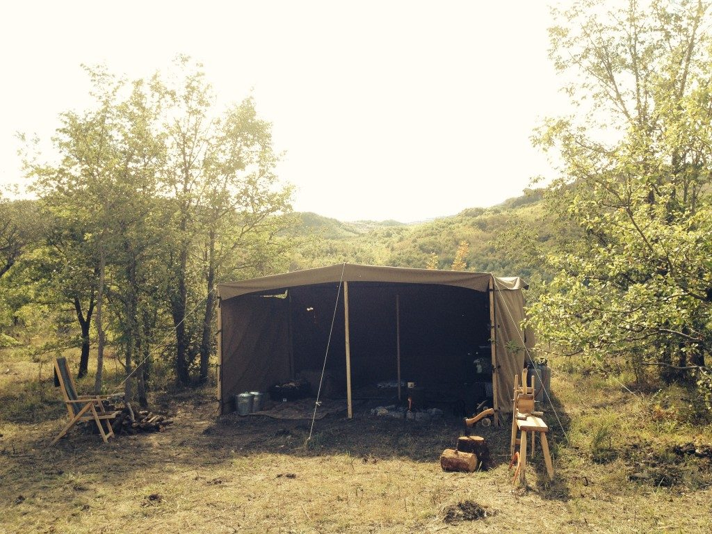 Front View Camp Kitchen