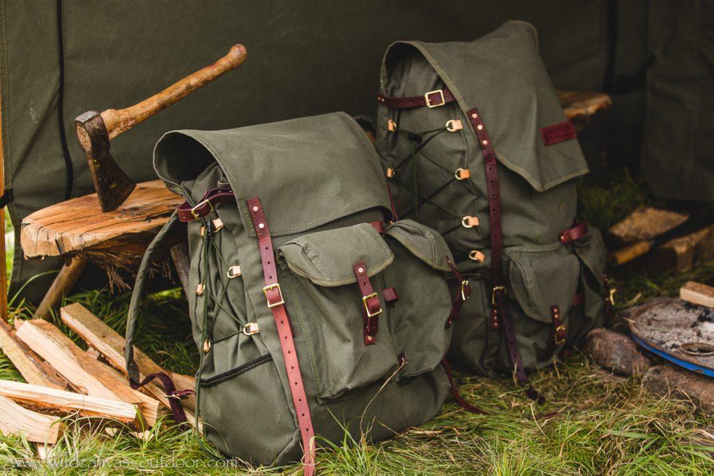 Backpacks Resting