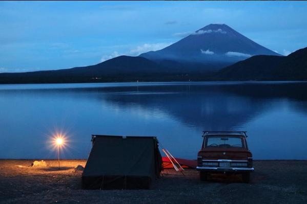 Family Baker Tent Camp dusk